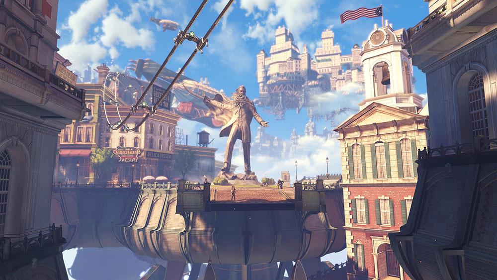 Bioshock Infinite videogame Steampunk