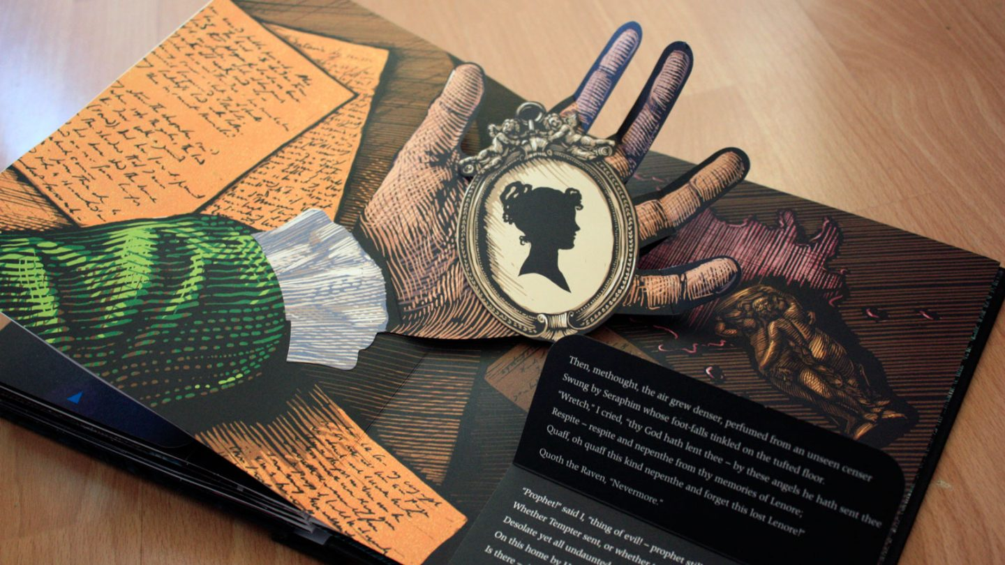 The Raven: A Pop-Up Book by Edgar Allan Poe