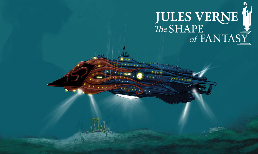 We announce our new game: Jules Verne, The shape of Fantasy