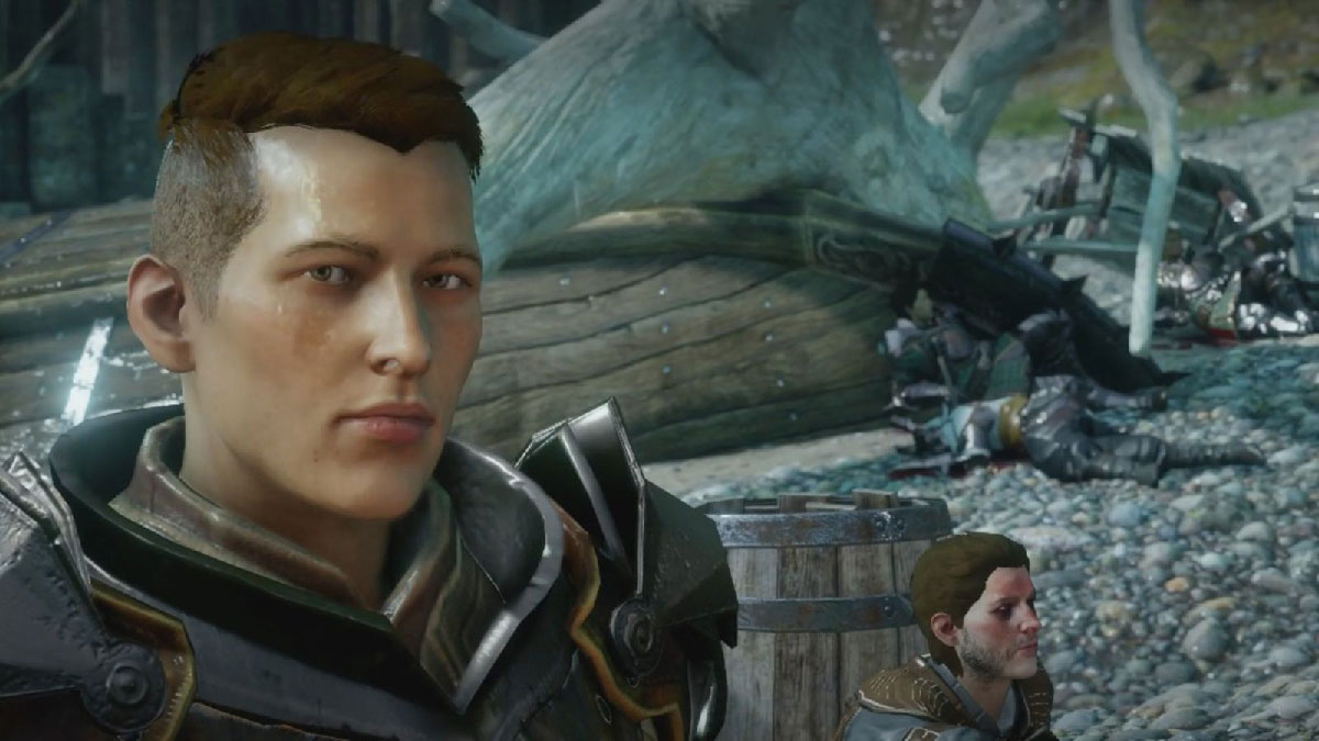 In Dragon Age, the character Krem identifies himself as a trans man.