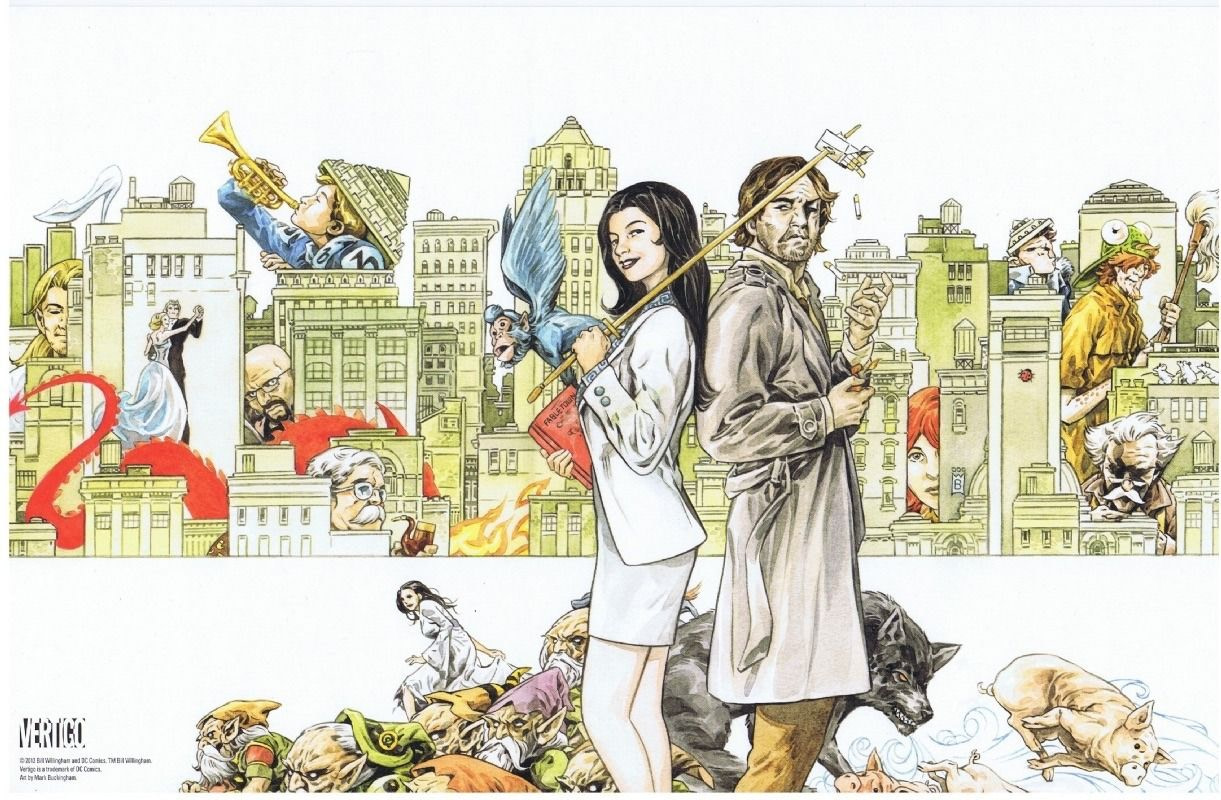 Fables comic, created by Bill Willingham