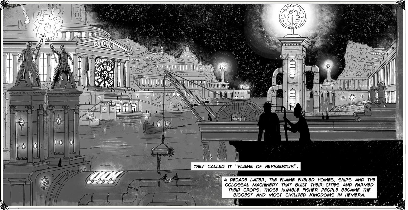 Jules Verne Webcomic