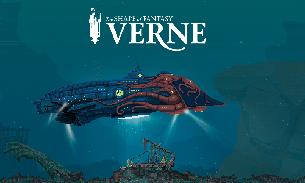 We announce our new game: Verne: The Shape of Fantasy
