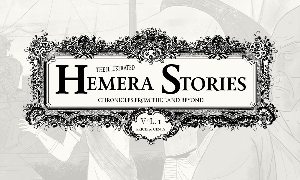 Extra! Extra! ?Stories of Hemera? is out!